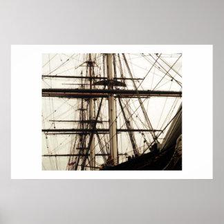 Ship's Mass Poster