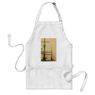 Ships mast aprons