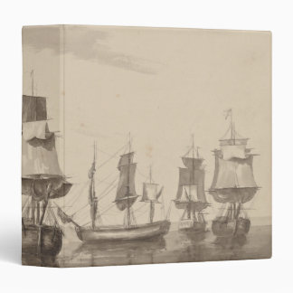 Ships of 26th June 1776 3 Ring Binder