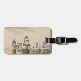 Ships of 26th June 1776 Bag Tag