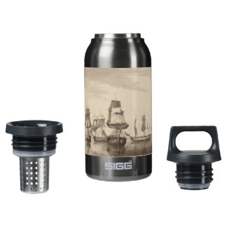Ships of 26th June 1776 Insulated Water Bottle