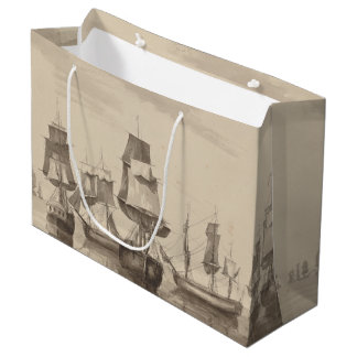 Ships of 26th June 1776 Large Gift Bag