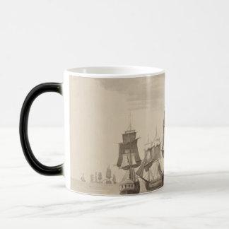 Ships of 26th June 1776 Magic Mug
