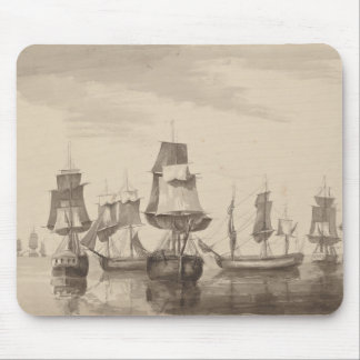 Ships of 26th June 1776 Mouse Pad