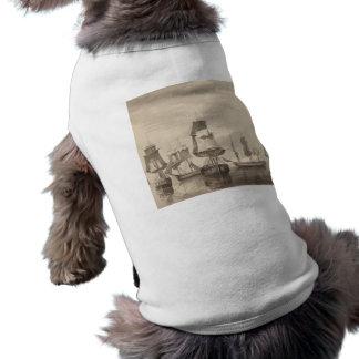 Ships of 26th June 1776 Pet T Shirt