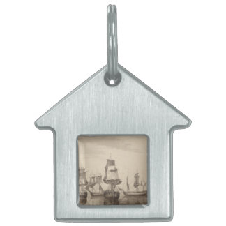 Ships of 26th June 1776 Pet Tags
