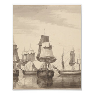 Ships of 26th June 1776 Photo Print