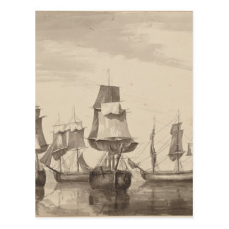Ships of 26th June 1776 Postcard