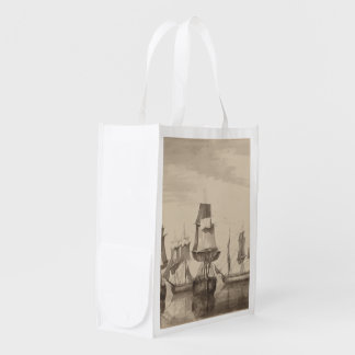 Ships of 26th June 1776 Reusable Grocery Bag