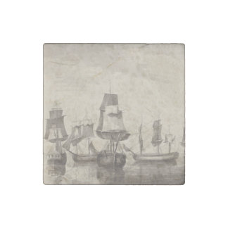 Ships of 26th June 1776 Stone Magnets