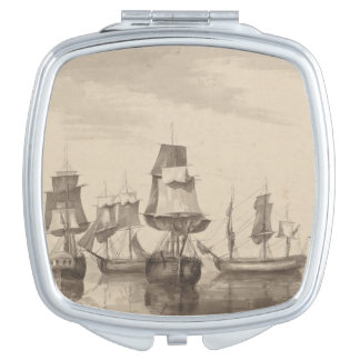Ships of 26th June 1776 Travel Mirrors