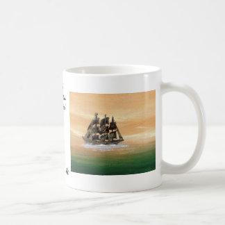 Ships of the Imagination Sailing Ship CricketDiane Basic White Mug