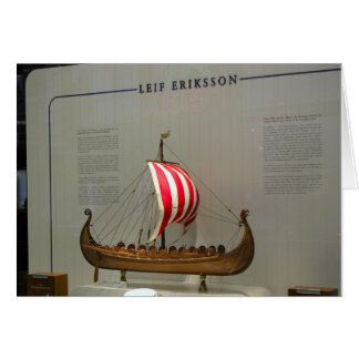 Ships of World Explorers, Leif Erikson, Card