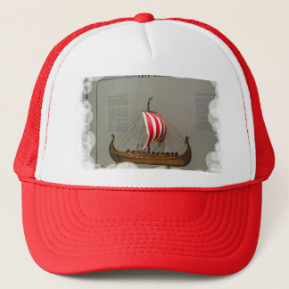 Ships of world Explorers, Leif Erikson Trucker Hat