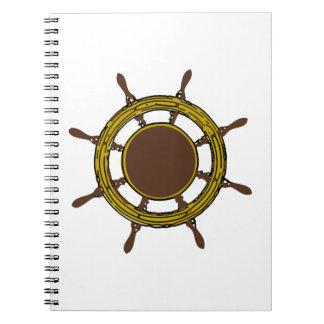 Ship's Wheel Notebook