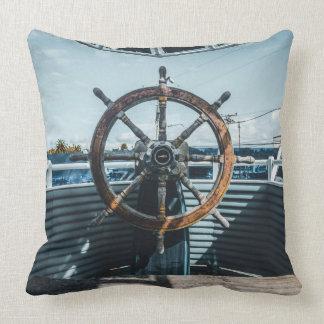 Ship's Wheel Pillow