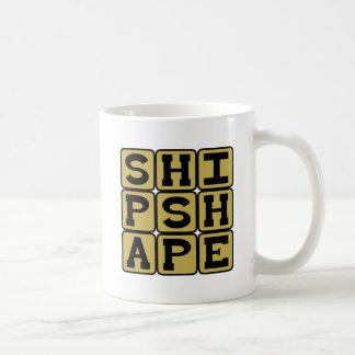 Shipshape Trim and Neat Coffee Mugs