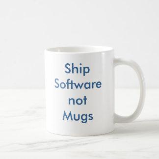 ShipSoftwarenotMugs Coffee Mug
