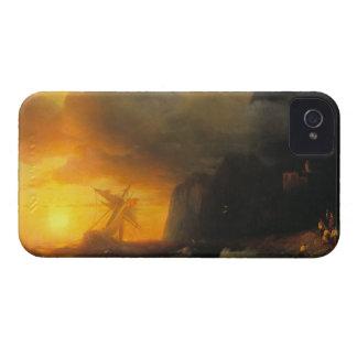 Shipwreck at Mount Athos Ivan Aivasovsky seascape Case-Mate iPhone 4 Case