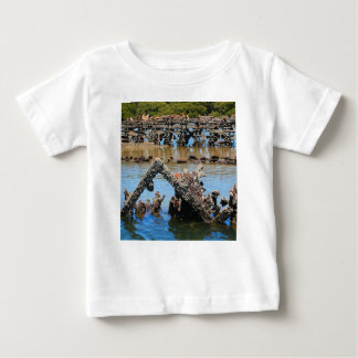 Shipwreck in the mangroves baby T-Shirt