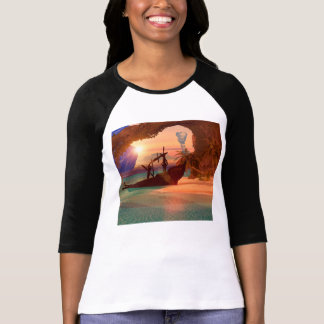 Shipwreck in the sunset shirts