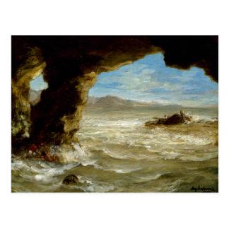 Shipwreck on the Coast Postcard
