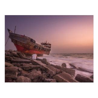 Shipwreck Postcard