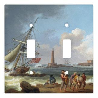 Shipwreck Rescue Ship Ocean Sea Light Switch Cover