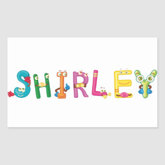 Shirley Sticker
