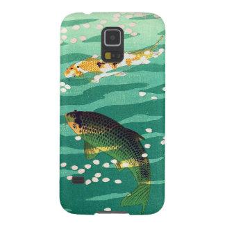 Shiro Kasamatsu Karp Koi fish pond japanese art Galaxy S5 Cover