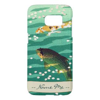 Shiro Kasamatsu Karp Koi fish pond japanese art Samsung Galaxy S7 Case