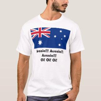 Shirt, Aussie!!! Aussie!!! Aussie!!!, Oi! Oi! Oi! T-Shirt
