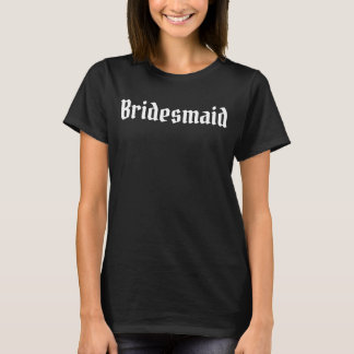 Shirt - BRIDAL PARTY DWARF - BRIDESMAID