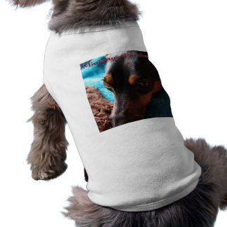 Shirt for miniature pin shear photograph entrance  dog tshirt