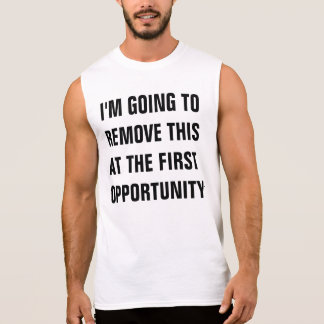 shirt for taking off