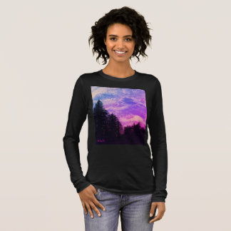 "Shirt ""Golden Sunset Pines"" by All Joy Art"