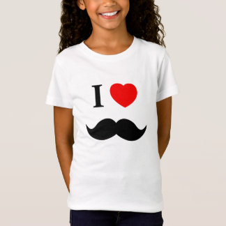shirt I Love Moustache