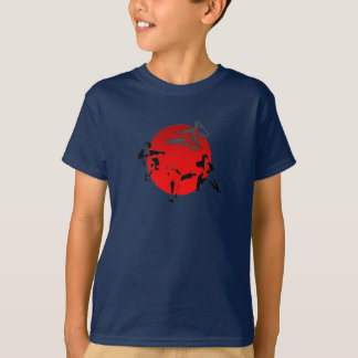 shirt kids karate martial arts japan