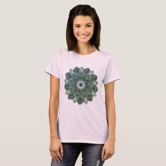Shirt Mandala rose