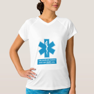 SHIRT-Medically trained & I can hurt you.ai T-Shirt