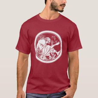 Shirt: Merlin -  by Aubrey Beardsley T-Shirt