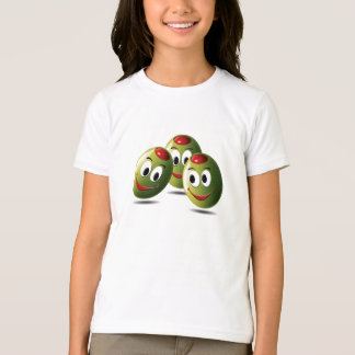 Shirt Olives filled with smile