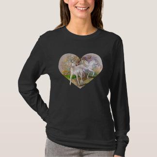 Shirt - Unicorn Pegasus Heart