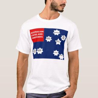 Shirt with australian states.