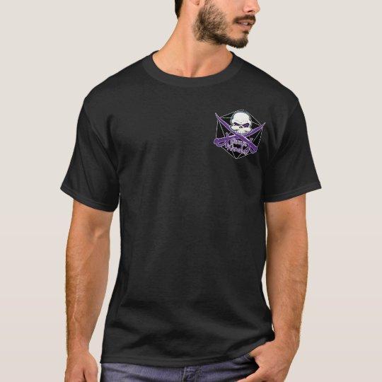 Shirt with back logo