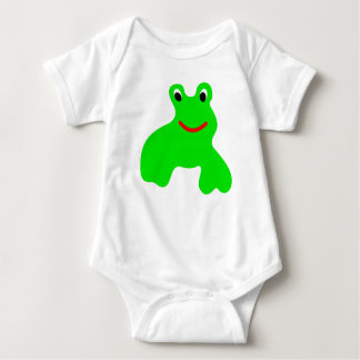 Shirt with frog