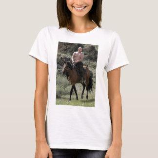 Shirtless Putin Rides a Horse T-Shirt