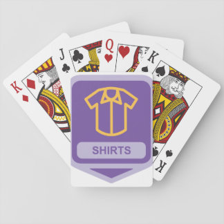 Shirts Icon Playing Cards