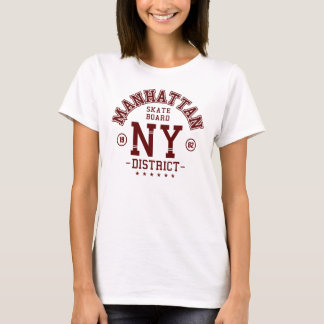 shirts manhattan skater board