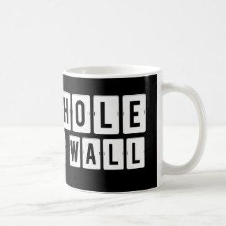 Shithole in the Wall Black Mug